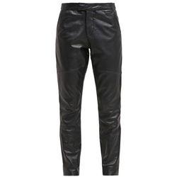 Goosecraft GALLERY Spodnie skórzane black