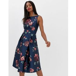 7a648d35b9 ... sukienka koktajlowa navy) w kategorii Odzież damska . Chi Chi London  midi dress in navy floral - Multi