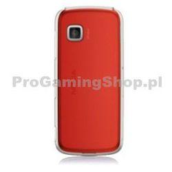 wymiana tylnej obudowy do telefonu Nokia 5230 telefon komórkowy | Czerwony Stylus +