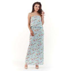 9927e834f6 suknie sukienki sukienka cekinowa z odkrytymi plecami (od Beżowa ...