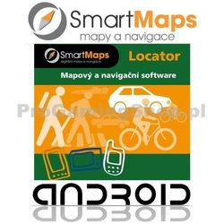 Nawigacja dla Androida-Smart Maps Locator-rowerowa mapa Słowacji i Czech-1:75 000
