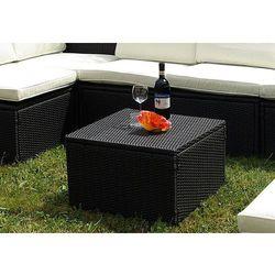 Stół stolik Garth polyrattan 55 x 55 x 36 cm