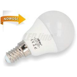 Żarówka LED SMD E14 230V 6W biała ciepła GLOBE