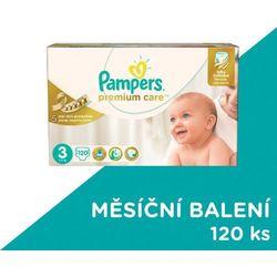 Pampers, Premium Care Mega Box, Pieluchy jednorazowe, Midi, 5-9 kg, 120 szt.