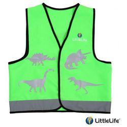 LIFEMARQUE LittleLife Kamizelka odblaskowa Dinozaur - rozmiar S