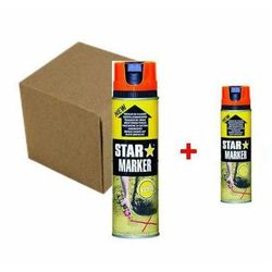Farba w aerozolu 24 x Star Marker + 2 x farba gratis