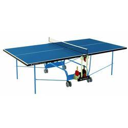 Stół do tenisa stołowego Donic-Schildkröt SpaceTec Outdoor, niebieski