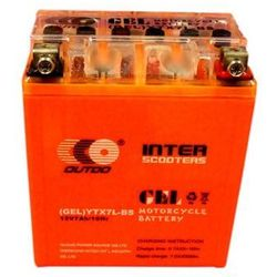 Akumulator żelowy ZIPP Outdo do skutera YTX7A-BS