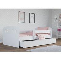Komplet łóżko Dziecięce Kocot Meble Classic 1 140x80 Biały Materac Szuflada