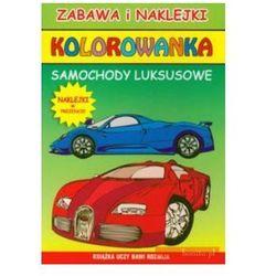 Kolorowanka samochody luksusowe + naklejki