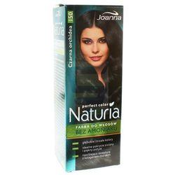 Joanna Naturia Perfect Color Farba do włosów bez amoniaku Czarna Orchidea nr 150