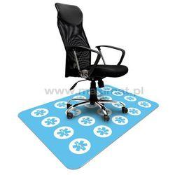 Podkładka ochronna ze wzorem 041 - MEDYCZNA pod krzesło - 100x140cm - gr. 1,3mm