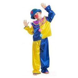 Strój Klaun żółty - przebrania / kostiumy dla dzieci, odgrywanie ról - 122 cm