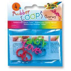 FOLIA Rubber Loops® - Zawieszki do bransoletki Charms LOVE