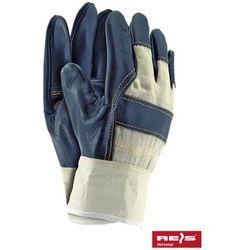 Rękawice robocze wzmacniane skórą licową RL rozmiar 10