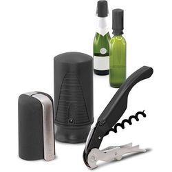 Akcesoria do otwierania wina i szampana Pulltex czarne