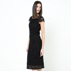Sukienka ołówkowa z gipiury