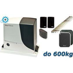 NICE ROBUS 600 XL do 600kg zestaw automatyki - 5mb listwy zębatej