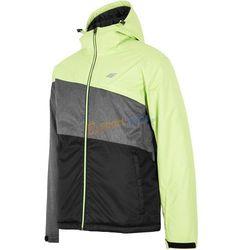 Kurtka narciarska męska KUMN052 4F (żółta)