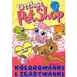 Littlest Pet Shop Kolorowanki zgadywanki (opr. miękka)