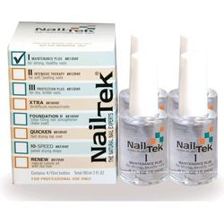 Nail Tek Formuła I Maintenance Plus - 4 x 15 ml - CZTEROPAK