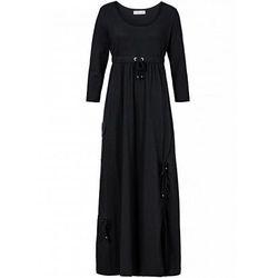 Sukienka, rękawy 3/4 bonprix czarny