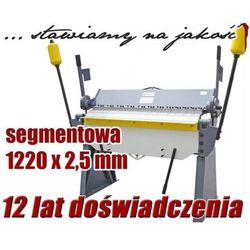 ZAGINARKA GIĘTARKA SEGMENTOWA DO BLACHY MAKTEK 1220mm x 2.5mm EWIMAX Promocja (--25%)