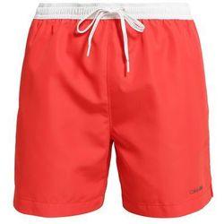 Calvin Klein Swimwear Szorty kąpielowe orange/white