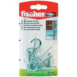 Kołki rozporowe z hakiem sufitowymi Fischer 94249 UX, 8 x 50 mm, 4 szt.
