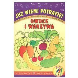 Owoce i warzywa. Kolorowanka dla dzieci 3-6 lat