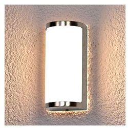 Lampa wisząca NIKOS ze stali szl. z LED, na zewn.