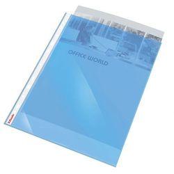 Koszulka krystaliczna Esselte A4/10szt. niebieska 55mic. (folia)