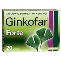 Ginkofar forte 80 mg 20 tabl.