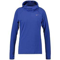 Nike Performance ELEMENT Bluzka z długim rękawem deep royal blue/reflective silver