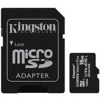 KINGSTON MicroSDHC 16GB 100MB/s SDCS2/16GB