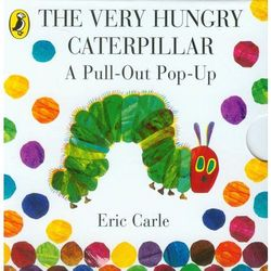 The Very Hungry Caterpillar: a Pull-out Pop-up (opr. kartonowa)