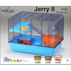 Inter-Zoo klatka dla chomika Jerry II z wyposażeniem