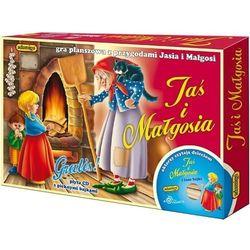 Jaś i Małgosia Gra planszowa z płytą CD