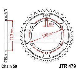 Zębatka tylna stalowa JT 479-48, 48Z, rozmiar 530 2302013 Yamaha FZ1 1000