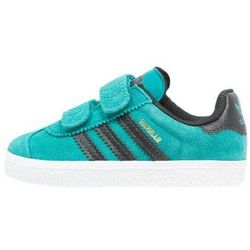 adidas Originals GAZELLE 2 Tenisówki i Trampki green/core black/white
