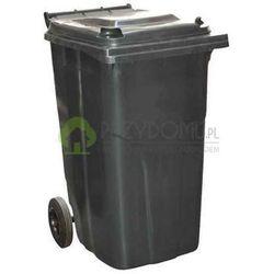 Kosz pojemnik na odpady stałe 240L grafitowy