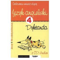 Język angieklski, dyktanda, zeszyt 4, Videograf Edukacja+CD
