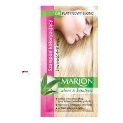 Marion Aloes & Keratyna 4-8 myć (W) szampon koloryzujący w saszetce 69 Platynowy Blond 40ml