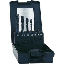 Zestaw gwintowników maszynowych nieprzelotowych HSSG-E Exact, nakrój C, DIN371, 7 szt.