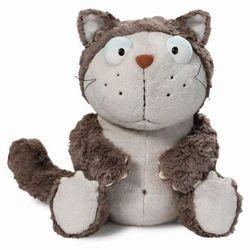 Nici, maskotka, kot, szary, 45 cm Darmowa dostawa do sklepów SMYK