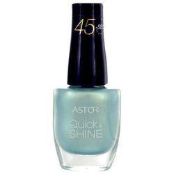 Astor Quick & Shine Nail Polish 8ml W Lakier do paznokci 602 Lady In Black
