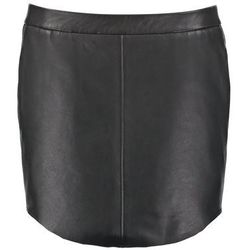 SET Spódnica skórzana black
