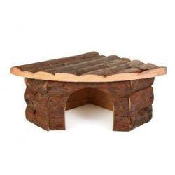 Domek drewniany dla gryzoni Jesper Rozmiar:21 × 10 × 15/15 cm