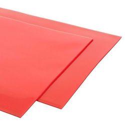 Chlapacze RRS FIA (fartuchy przeciwbłotne) - Czerwony