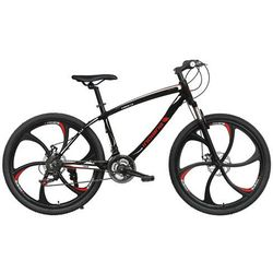 Rower INDIANA X-Rock 3.6 Czarno-Czerwony + DARMOWY TRANSPORT! + Kieruj się na niską cenę!